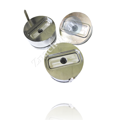 Сменные насадки для изготовления прямоугольных значков продольной формы